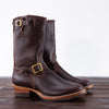 [Pre-order] Limited Engineer Boot - Burgundy Waxed Flesh