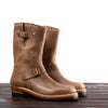 [Pre-order for November 2020 delivery] Engineer Boots - Natural Horween CXL