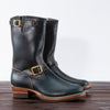 [Pre-order] Limited Engineer Boot - Navy Waxed Flesh
