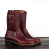 [Pre-order for November 2020 delivery] Engineer Boots - Burgundy Horween CXL