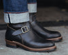 Engineer Boots - Black Horween CXL