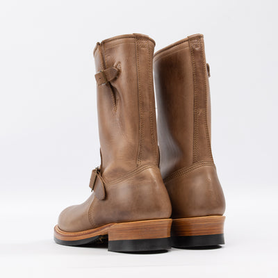 [Pre-order for October 2018 delivery] Engineer Boots - Natural CXL