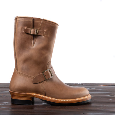 [Pre-order for May 2020 delivery] Engineer Boots - Natural Horween CXL