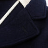 Evans Jacket - Navy Melton Knit Wool