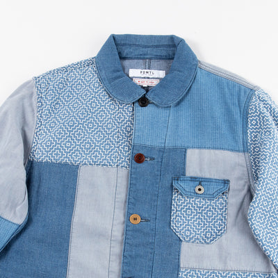 Boro Patchwork Coverall Jacket (3 Year Wash)