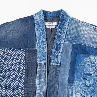 Sashiko Haori Jacket (10 Year Wash)