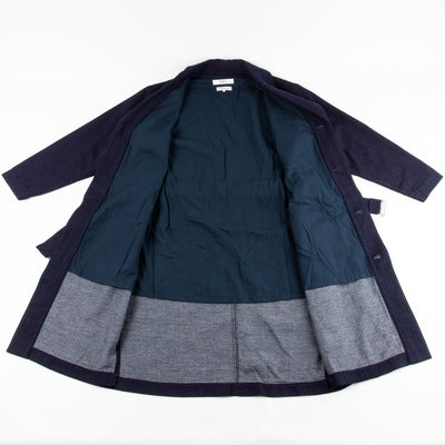 Sashiko Shawl Collar Jacket