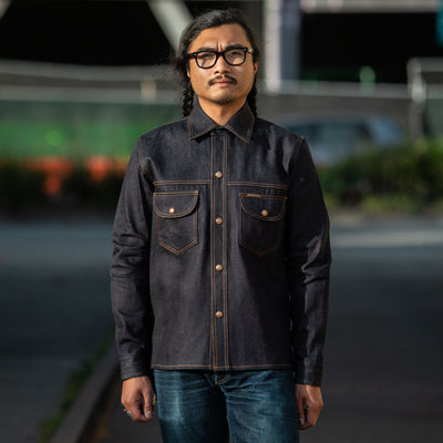 Fargo Shirt - Limited Edition Indigo No. 9 Denim