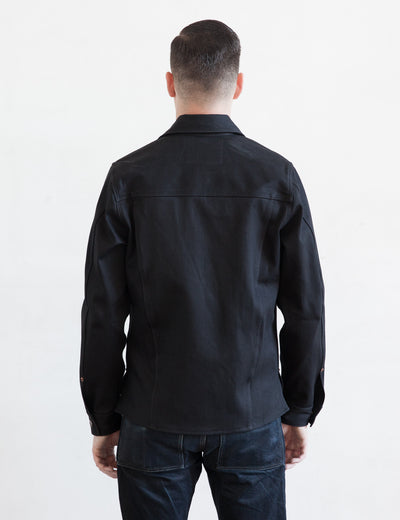 Fargo Shirt - Black Gunpowder Denim