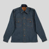 Fargo Shirt - Stampede Broken Twill Denim