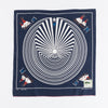 Fastcolor Selvedge Bandanna (DENIM MAN IN BIG MAZE) - Navy