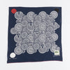 Fastcolor Selvedge Bandanna (DENIM MAN IN MAZE) - Navy
