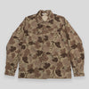 Fatigue Overshirt - Tan Mitchell Camo