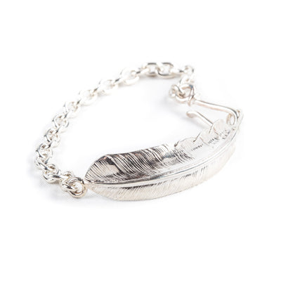 Feather Chain Bracelet BR-050