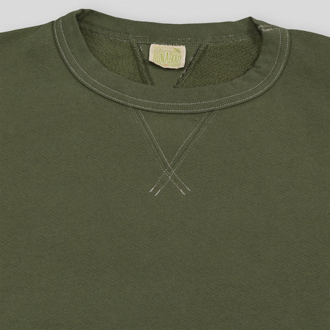 Fraternity Sweatshirt - Moss Green