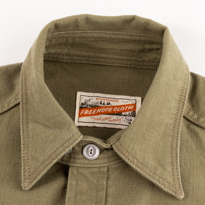Scout Shirt - Olive Canvas