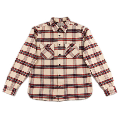 Freenote Benson Shirt - Cream Plaid - Standard & Strange