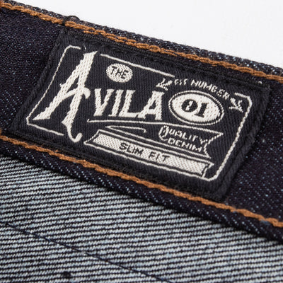 Avila Slim Taper Fit - 14.5oz Kaihara