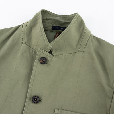 Games Blazer - Sage Green Cotton/Linen