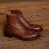 [Pre-order for September 2020 Delivery] Graham Boot - Brown Embossed Calf - MR Last