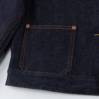 Grant Jacket - 29 Hand Dip 13 oz Denim