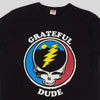 Grateful Dude Tee - Black
