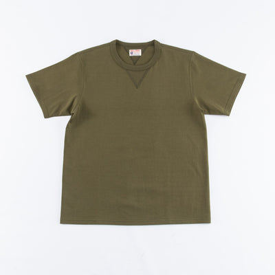 Gusset Tee - Olive