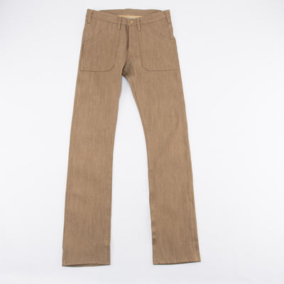 Guthrie Work Jeans - Tan Selvedge - 001 Fit