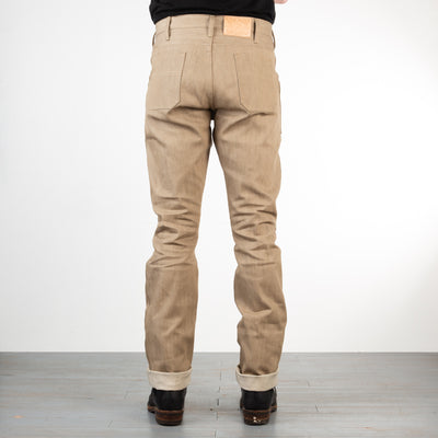 Guthrie Work Jeans - Tan Selvedge - 002 Fit