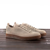 Hand Sewn Low Latex Sneaker - Grey Suede