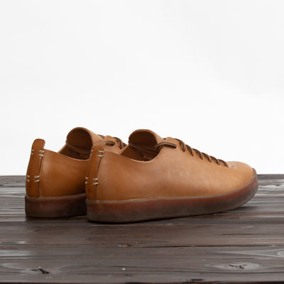 Hand Sewn Low Latex Sneaker - Tan