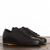Hand Sewn Low Rubber Sneaker - Black Semi-Cordovan