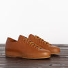 Hand Sewn Low Rubber Sneaker - Tan Semi-Cordovan
