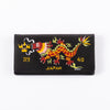 North No Name Handpainted Dragon Souvenir Wallet - Black - Standard & Strange