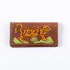 Handpainted Tiger Souvenir Wallet - Brown