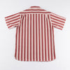 Hawaiian Shirt - Red Stripe