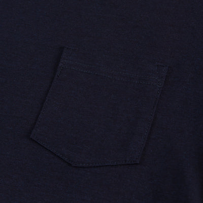 Heavyweight Pocket T-shirt - Indigo