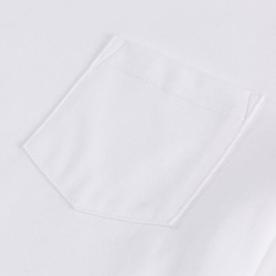 Heavyweight Pocket T-shirt - White