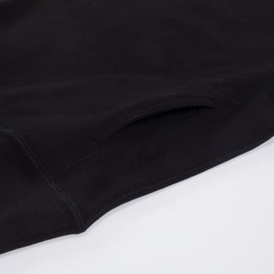 Heavyweight Crewneck Sweater - Black