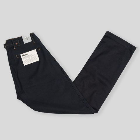 Heyes Pant - Indigo Selvedge Duck Canvas
