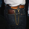 Horse Wallet Chain - Brass