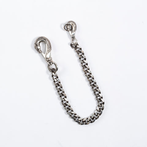 Horse Wallet Chain - Silver