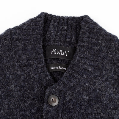 Four Eyes Cardigan - Charcoal