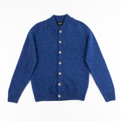Four Eyes Cardigan - Cobalt Dream