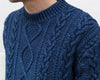 Indigo Aran Sweater MC17061