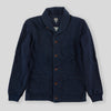 Indigo Shawl Collar Cardigan