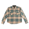 Bryson Flannel Shirt - Grey/Beige/Petrol/Red