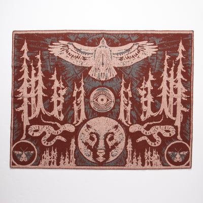 Eye of the Forest Blanket