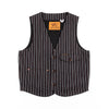 Harrison Vest - Trickery Stripe
