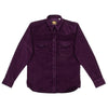 Manolito Shirt - Purple Corduroy